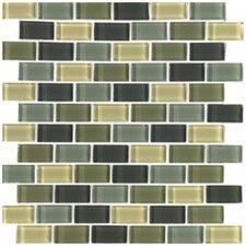 Shimmer Blends Ceramic Mosaic Tile in Ocean