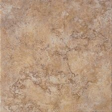 "Tosca 6.5"" x 6.5"" Porcelain Field Tile in Noce"