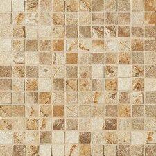 """Vesale Stone 1"""" x 1"""" Porcelain Mosaic Tile in Sand"""