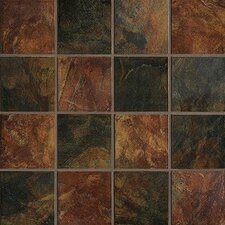 "Imperial Slate 6"" x 6"" Ceramic Field Tile in Imperial Mix"