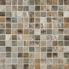 """Vesale Stone 1"""" x 1"""" Porcelain Mosaic Tile in Smoke"""