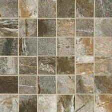 """Vesale Stone 2"""" x 2"""" Porcelain Mosaic Tile in Moss"""