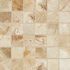 """Vesale Stone 2"""" x 2"""" Porcelain Mosaic Tile in Sand"""