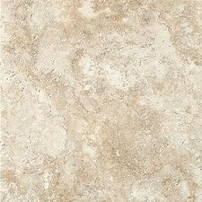 "Artea Stone 13"" x 13"" Porcelain Field Tile in Antico"