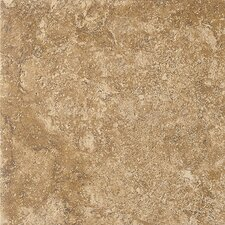 "Artea Stone 13"" x 13"" Porcelain Field Tile in Noce"