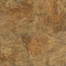 "Imperial Slate 12"" x 12"" Ceramic Field Tile in Tan"