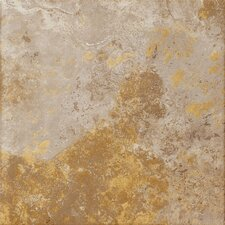 "Jade 20"" x 20"" Porcelain Field Tile in Taupe"