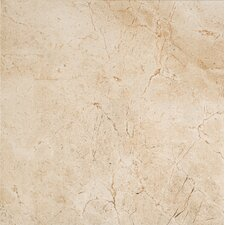 """Timeless Collection 19.56"""" x 19.56"""" Porcelain Field Tile in Marfil Cream"""