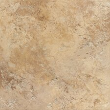 "Aida 18"" x 18"" Porcelain Field Tile in Gold"