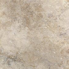 "Aida 18"" x 18"" PorcelainField Tile in Beige Gray"