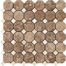 """Campione 2"""" x 2"""" Porcelain Mosaic Tile in Andretti"""