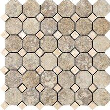 "Campione 2"" x 2"" Porcelain Mosaic Tile in Sampras"