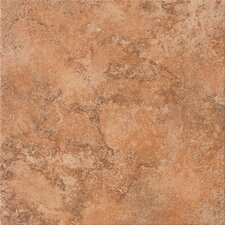 "Tosca 6.5"" x 6.5"" Porcelain Field Tile in Amber"