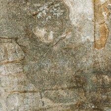 """Vesale Stone 6.5"""" x 6.5"""" Porcelain Field Tile in Moss"""