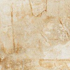 """Vesale Stone 6.5"""" x 6.5"""" Porcelain Field Tile in Sand"""