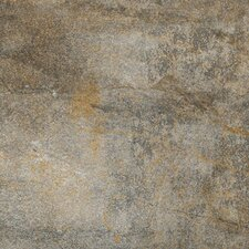 """Vesale Stone 13"""" x 13"""" Porcelain Field Tile in Smoke"""
