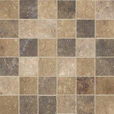 "Walnut Canyon 2"" x 2"" Porcelain Mosaic Tile in Multi"