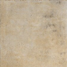 "Walnut Canyon 6.5"" x 6.5"" Porcelain Field Tile in Cream"
