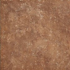 """Walnut Canyon 20"""" x 20"""" Porcelain Field Tile in Umber"""