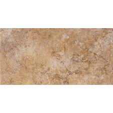 "Tosca 6.5"" x 13"" Porcelain Field Tile in Noce"