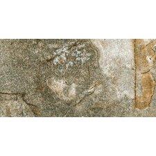 """Vesale Stone 10"""" x 20"""" Porcelain Field Tile in Moss"""