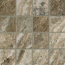 """Archaeology 3"""" x 3"""" Porcelain Mosaic Tile in Crystal River"""