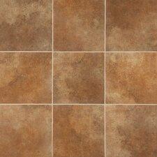 "Stone Age 6"" x 6"" Porcelain Field Tile in Lava River"