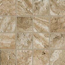 "Archaeology 3"" x 3"" Porcelain Mosaic Tile in Babylon"