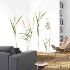 Wandtattoo Wall Grasses