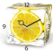 Wanduhr Iced Lemon