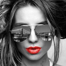 Fashion Art Nyc Attitude Grafildruck von Design Studio