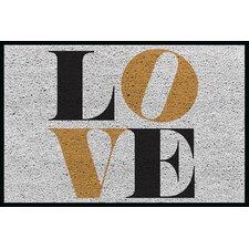 Fußabstreifer Love