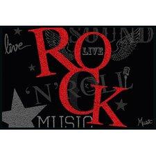 Fußabstreifer Rock Music