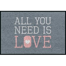 Fußabstreifer All You Need is Love
