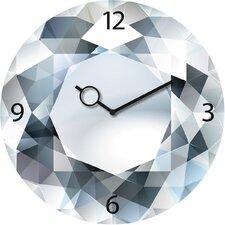 Analoge Wanduhr Time Art Sparkling Diamond 30 cm