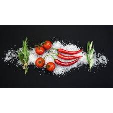 Spritzschutz Cucina Italiana Pomodori E Peperoncini