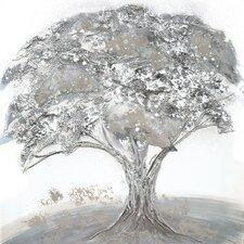 Gerahmtes Leinwandbild Lonesome Tree