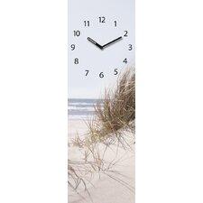 Analoge Wanduhr Time Art Sea Of Dunes XXL