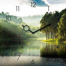 Analoge Wanduhr Time Art Pang Oung