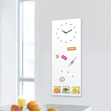 Analoge Wanduhr Time Board Fruit Interplay XXL
