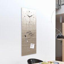 Analoge Wanduhr Time Board Structure Board XXL