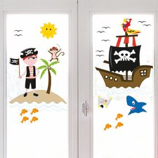 Fenstersticker Pirates Of The Window