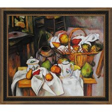 Table Granger, 1888 by Paul Cezanne Framed Original Painting
