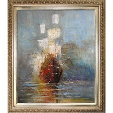 Nostalgy by Justyna Kopania Framed Hand Painted Oil on Canvas