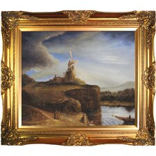 The Mill by Rembrandt van Rijn Framed Painting Print
