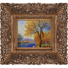 Antibes, View of Salis by Claude Monet Framed Painting Print