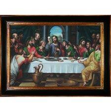 The Last Supper by Juan de Juanes Framed Painting Print