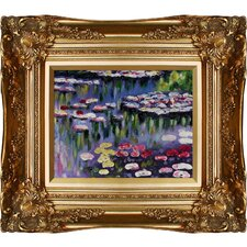 Water Lilies by Claude Monet Framed Painting Print