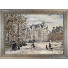 The Fletcher Mansion, New York City by Jean Francois Raffaelli Framed Original Painting