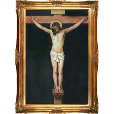 Christ on the Cross by Diego Velazquez Framed Painting Print
